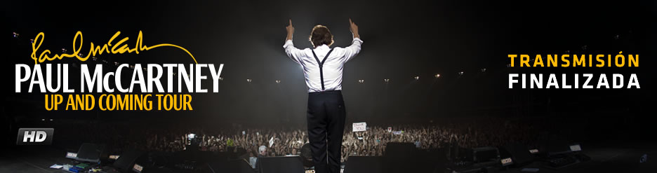 Terra transmite en vivo el show de Paul McCartney desde Brasil
